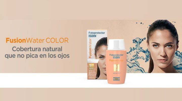 Chollo Protector Solar Facial Isdin Fusion Water Color Spf 50
