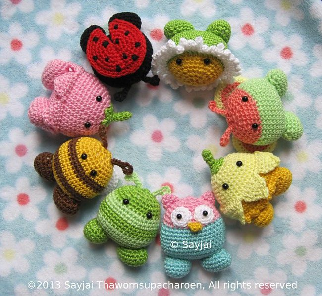 17 Best images about Crochet - Amigurumi, Small Stuffed ...