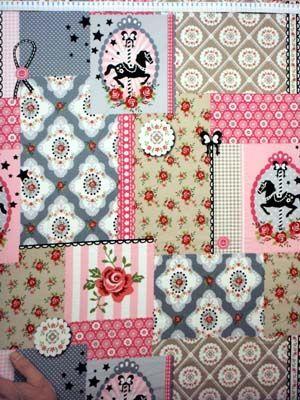 1625 patch l.roze-grijs