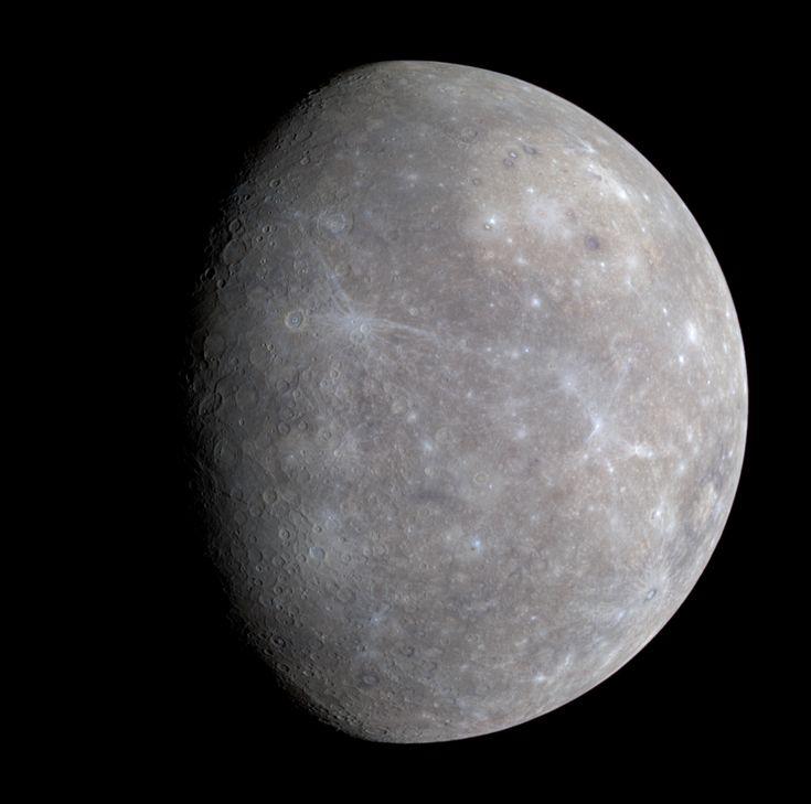 #Espacio, Mercurio
