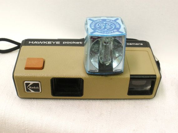 1970's Kodak Hawkeye Pocket Instamatic Camera  by GretaGirlsDen, $10.00