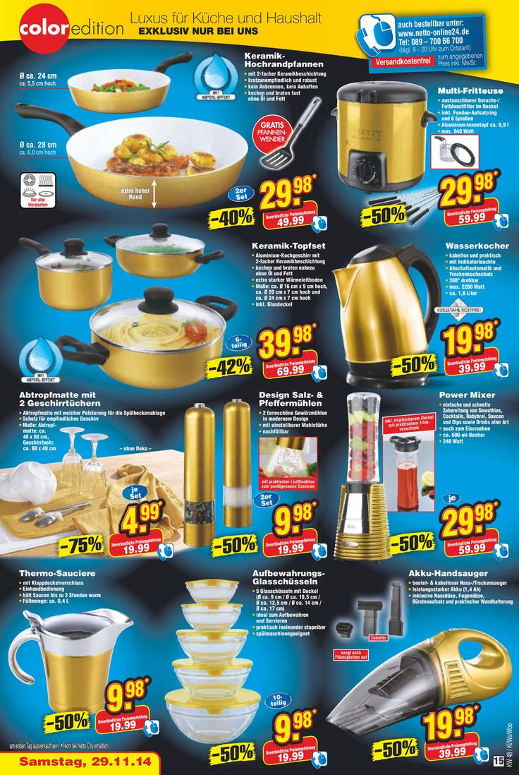 Aktueller Netto Marken-Discount Prospekt, Einfach besser, Seite 15