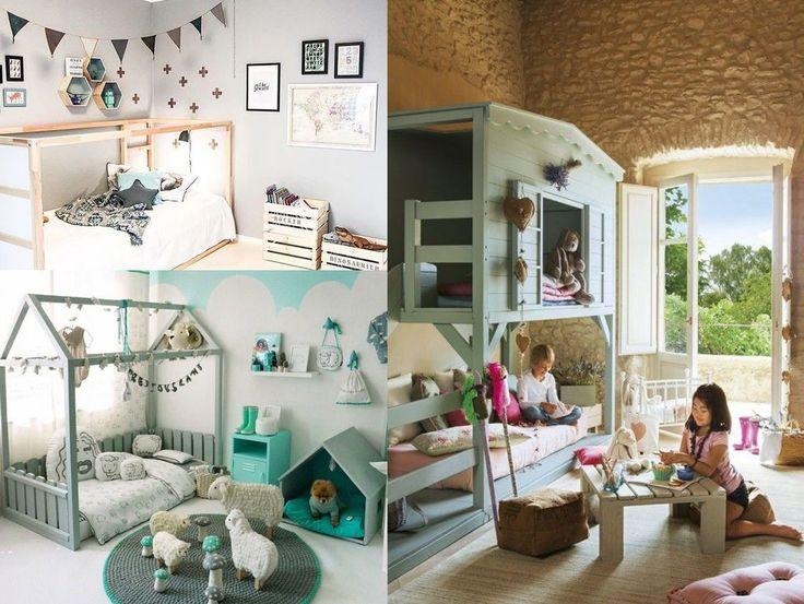 opciones para decorar la habitacin de los nios la estructura de cama