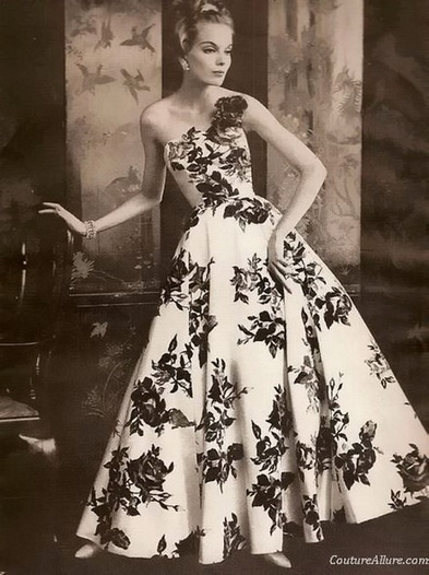 I want to re-make this as a tea-length dress so I can wear it all day, everyday.