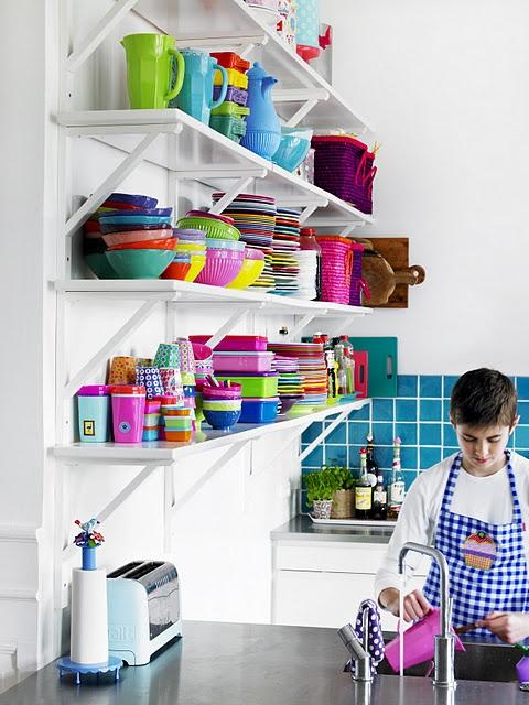 14 best Rainbow kitchen images on Pinterest Rainbow kitchen