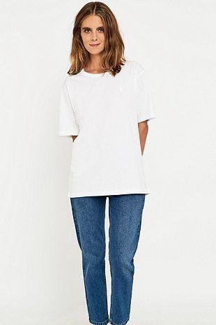 t-shirt oversize en jersey
