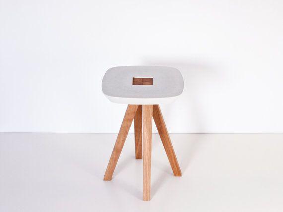 Stool, Side Table, Pedestal Table
