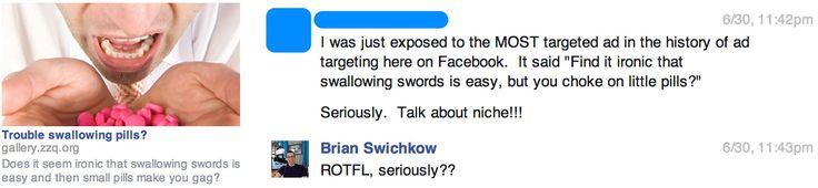 Was passiert, wenn sich ein Social Media-Fuzzi an seinem Mitbewohner für einen elaborierten Prank rächen will? Nun, er bucht hypertargeted Anzeigen mit einer Zielgruppe von genau 1 auf Facebook