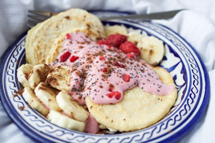Dinkel Pancakes