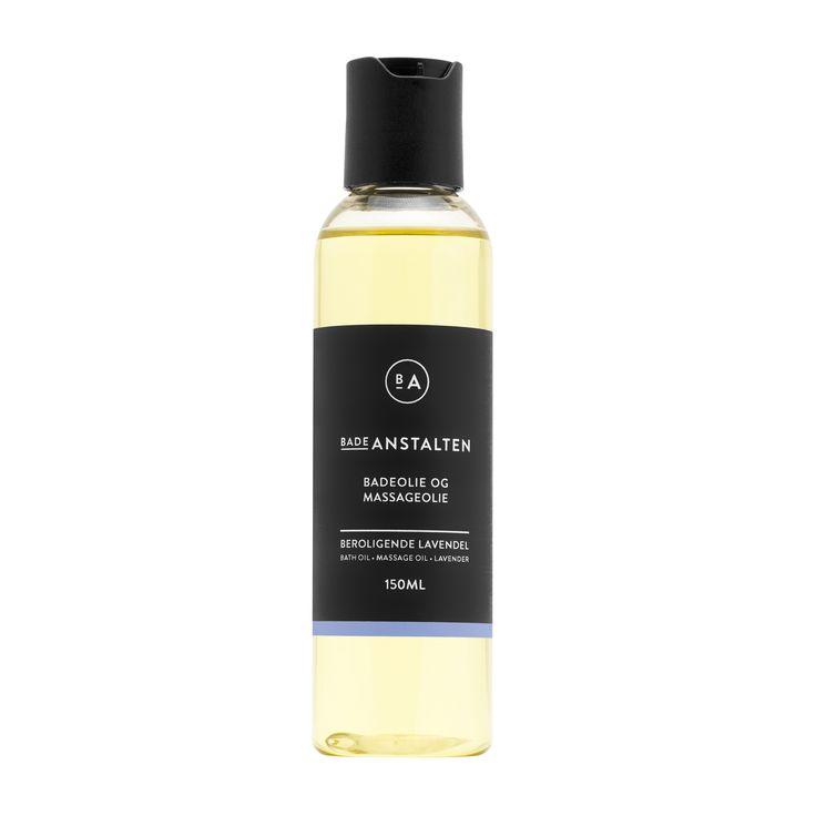 Bath & Massage Oil Lavender