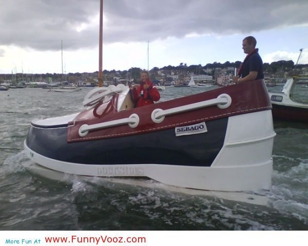 cool New Boot Boat - funny boats