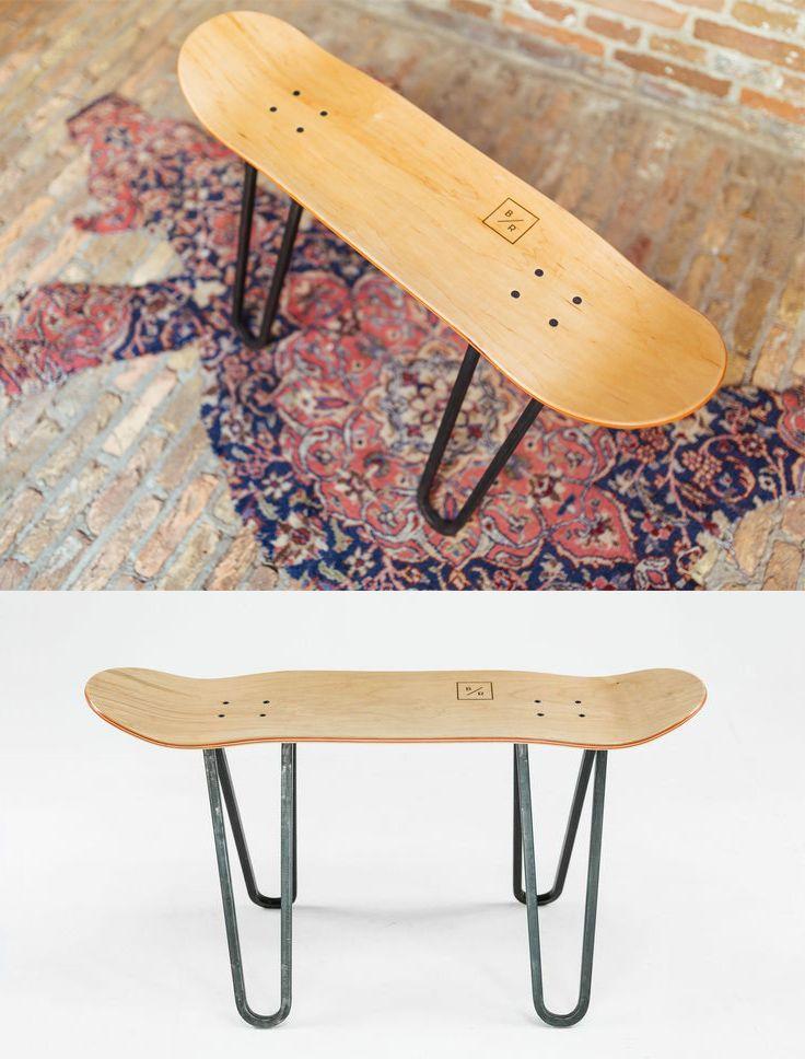 Skateboard Headboard 25+ best skateboard furniture ideas on pinterest | recycled