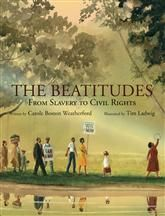Beautiful poetry plus beautiful illustrations plus the words of the Beatitudes running along the bottom of each page equals a mama crying while she reads aloud of God's presence in the midst of injustice. A truly beautiful book.