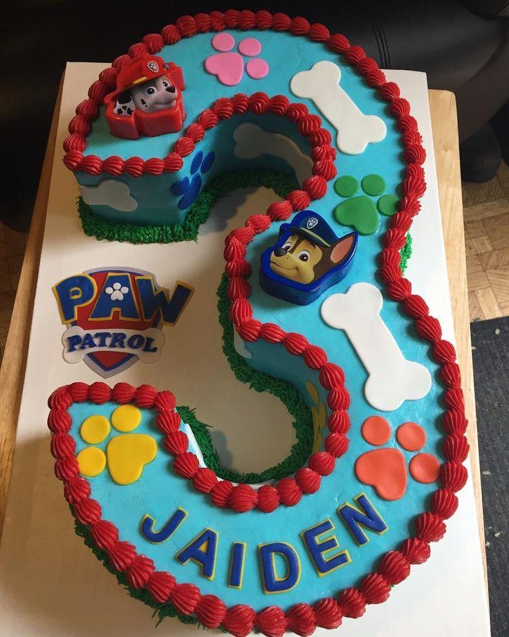 Paw Patrol Marshall Birthday Cakes