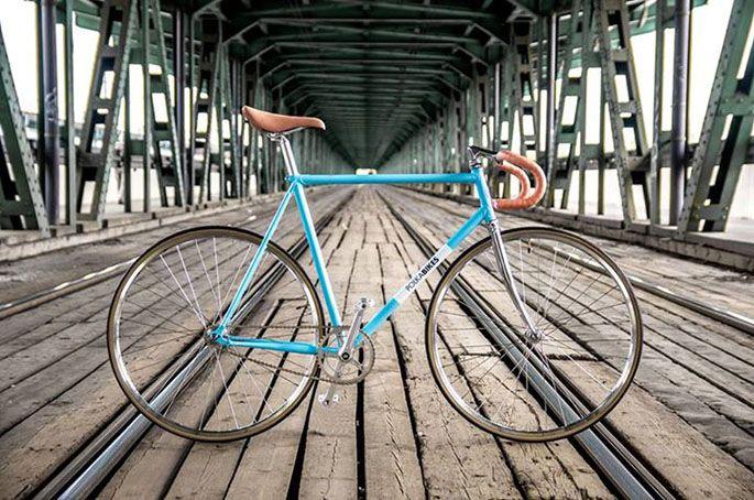 Niebieski z brązowym? Czemu nie! #lifestyle #bike #rower #city #natura