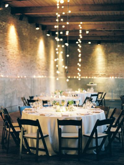 Loft reception: http://www.stylemepretty.com/little-black-book-blog/2015/04/23/industrial-italian-chicago-wedding/ | Photography: Clary Pfeiffer - http://www.claryphoto.com/