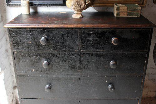 Dark loose furniture