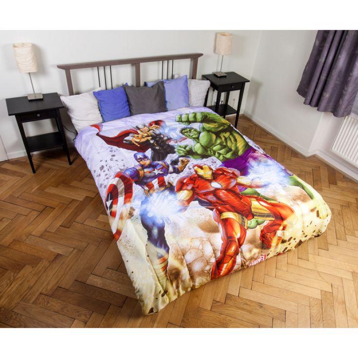 BOSSZÚÁLLÓK GYEREK ágytakaró 180x260 cm, Díszpárna.com Webáruház