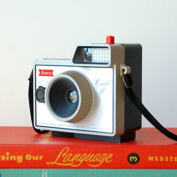 1960's Ansco Cadet II Vintage Camera 127 Film Camera di vint