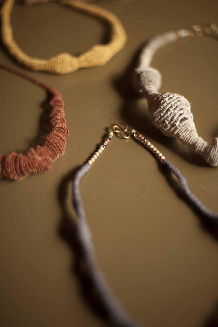 textile jewelry. gabriela horvat