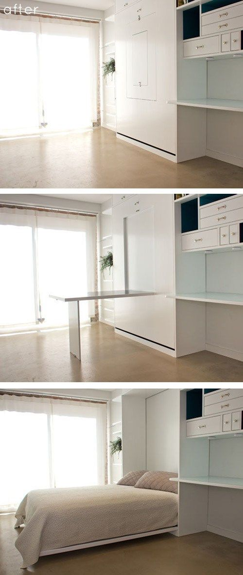 9+ Awesome Space Saving Furniture Designs