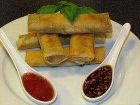 Cathrines matblogg: Vietnamesiske vårruller.