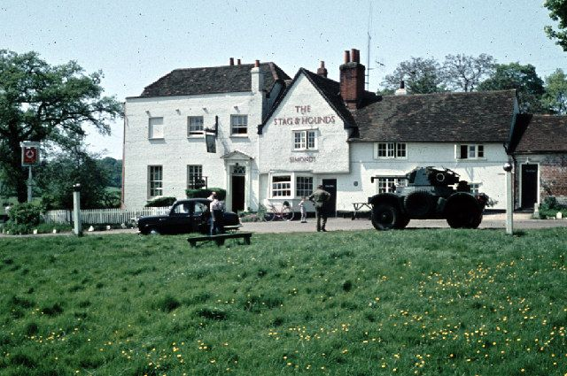The Stag & Hounds, Binfield, 1959
