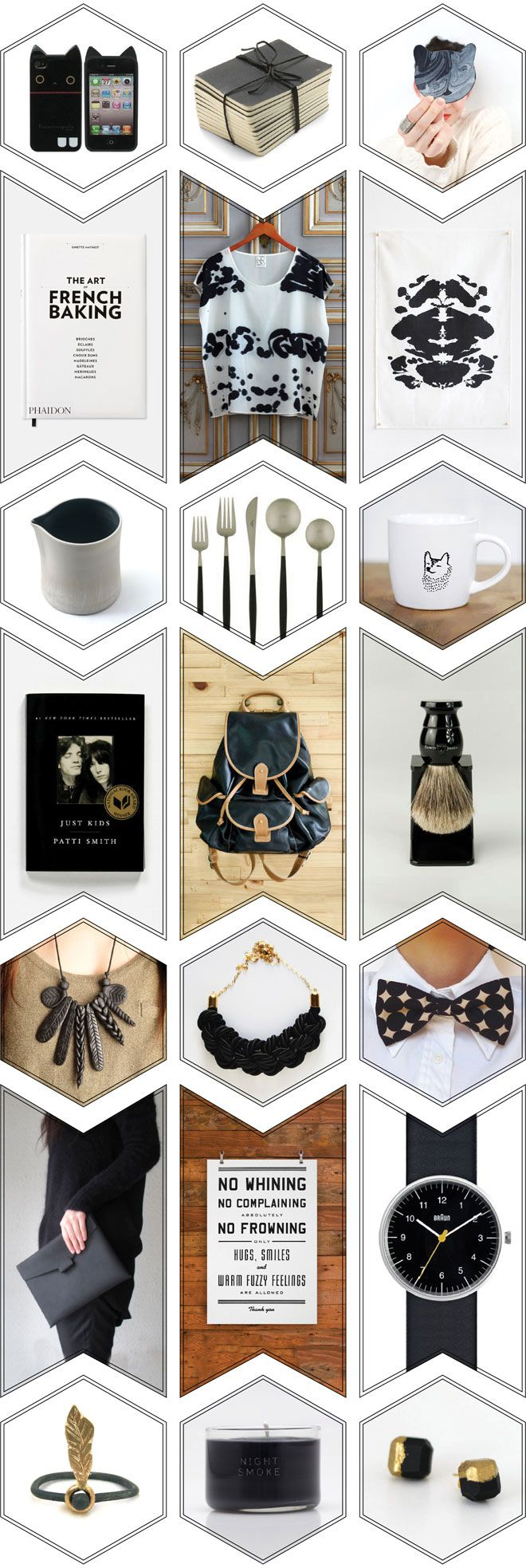 Miss Moss gift guide  But I might have to figure out where to reuse this photo layout idea!