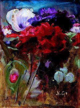 Poppies and tulips_Nikolaos Gyzis
