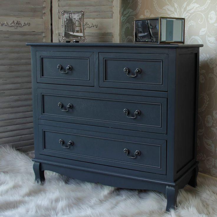 90 best Bedroom ideas images on Pinterest Anastasia Range   Dark Grey four drawer Chest NEW . Drawers For Bedroom. Home Design Ideas