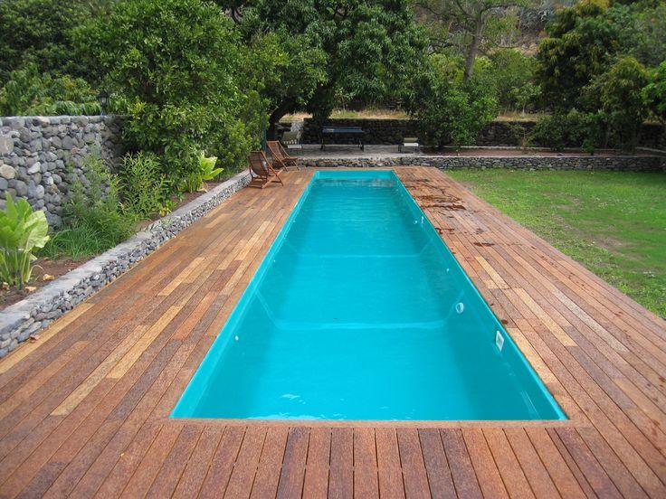 piscina prefabricada de madera - Piscinas de última hora para los más rezagados
