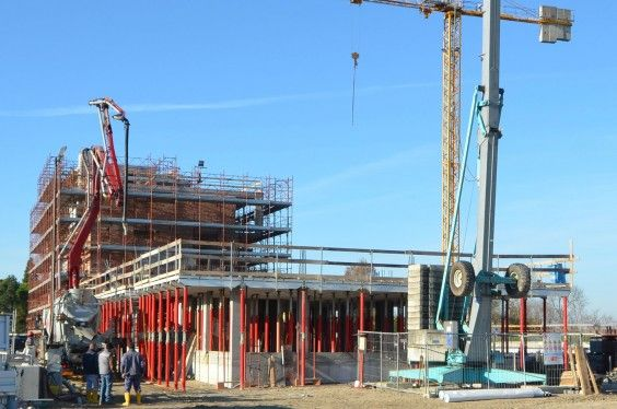 December 2013 - Building A/Building B #workinprogress #soleis #realestate #forsale #italy #lignano