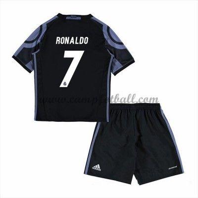 Fotballdrakter Barn Real Madrid 2016-17 Ronaldo 7 Tredje Draktsett