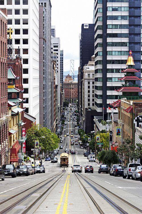 San Francisco, California: California Bi, Big Cities, San Francisco California, California St., Sanfrancisco, Cities Street, Places, Usa, California Street