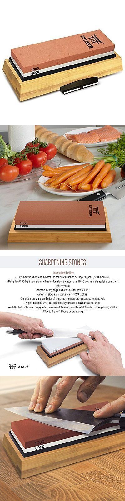 Sharpeners 116005: Tatara Sharpening Stone 1000 And 6000 Grit - Double Sided Japanese Whetstone Set -> BUY IT NOW ONLY: $94.93 on eBay!