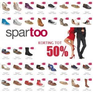 Nu bij Spartoo: Schoenen korting & kleding korting tot 50% bij Spartoo. Hoge kortingen op Sneakers, Boots, Jacks, Tops & T-shirts, Handtassen, Laarzen, Pumps #mode #Spartoo #korting