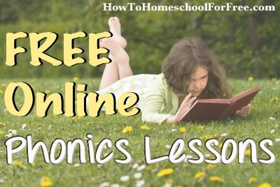 FREE Online Phonics Lessons! | How To Homeschool For FREE