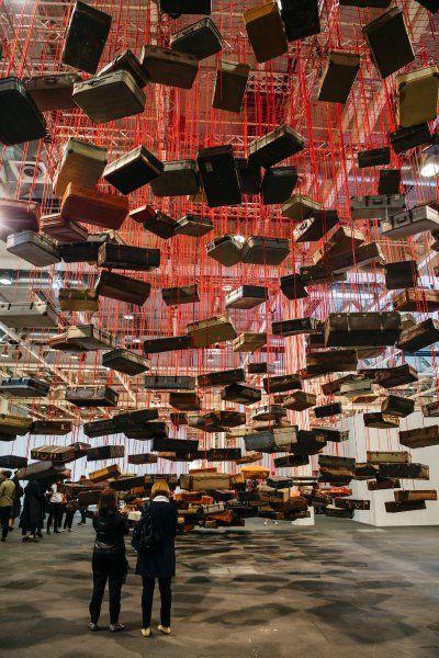 Chiharu Shiota Art Basel