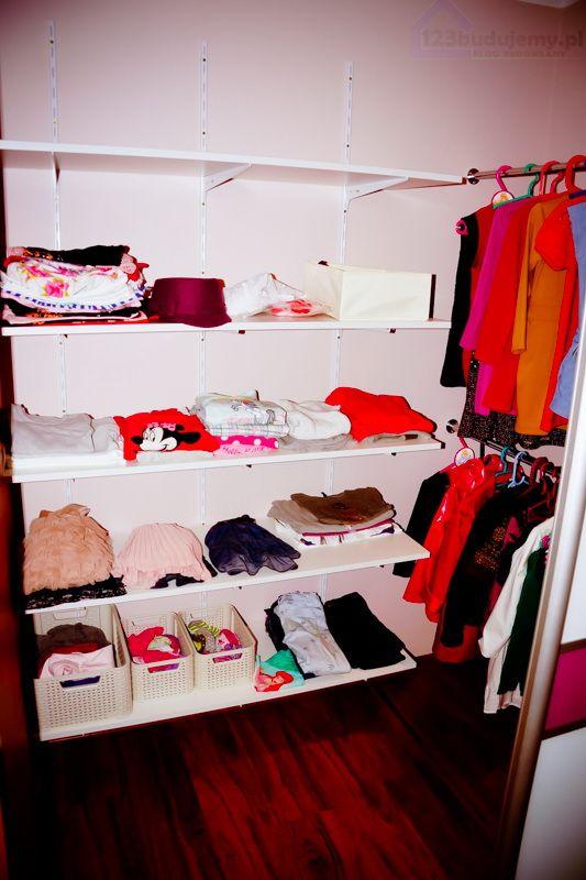 aranżacja garderoby 123budujemy blog budowlany, budowa domu - porady budowlane Jak tanio urządzić garderobę szafa wnękowa #wardrobe #design