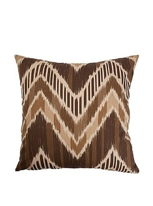 57% OFF The Pillow Collection Aacharya Zigzag Pillow, Walnut