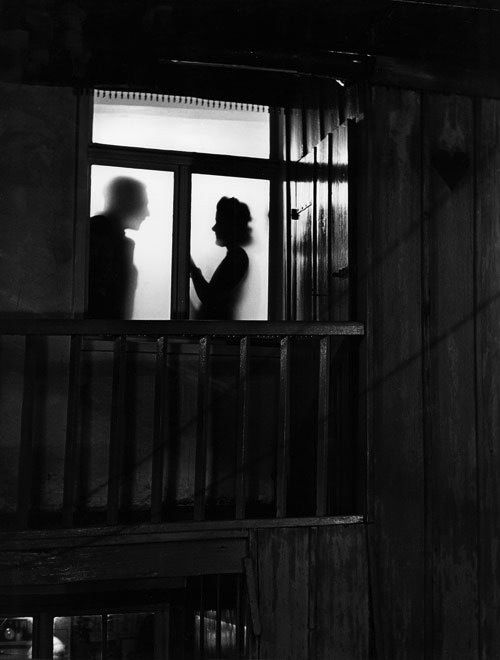 Shadows in Window, 1949 (Siegfried Lauterwasser)