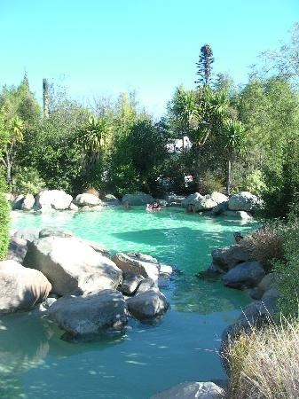 Hamner springs just outside christchurch New Zealand