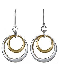 Argento Vivo Double Circled Earrings
