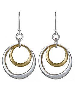 Argento Vivo Double Circled Earrings