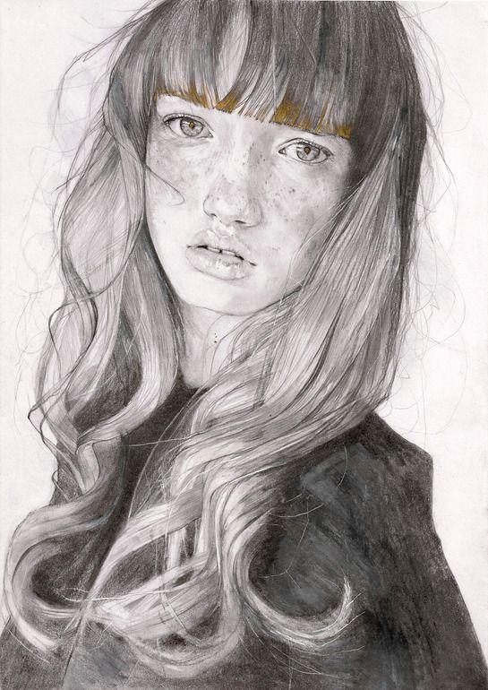 "Adrien Patout; Pencil, 2013, Drawing ""Amberley"""