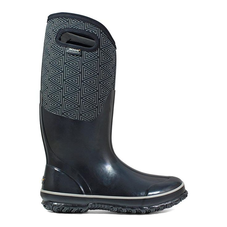 Classic Triangles Tall Women's Insulated Boots - 72113