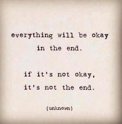 This is so true. Even though you may wish it was the end, you can't let it get the best of you. You two loved each other, but now there is too much to fix.