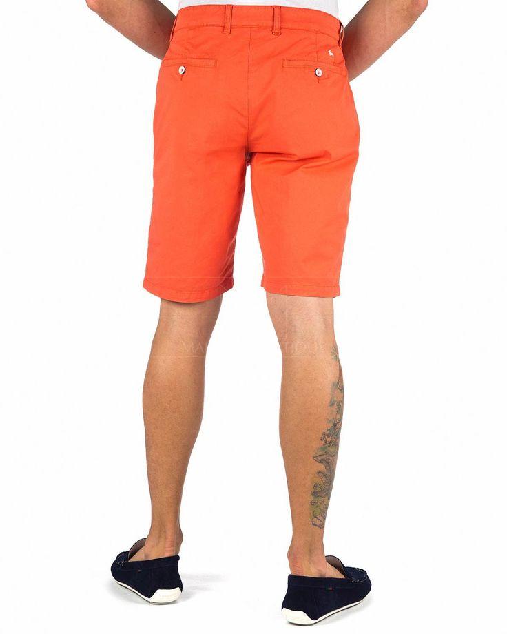 Pantalones Cortos Hombre Harmont & Blaine ® Naranja | ENVIO GRATIS