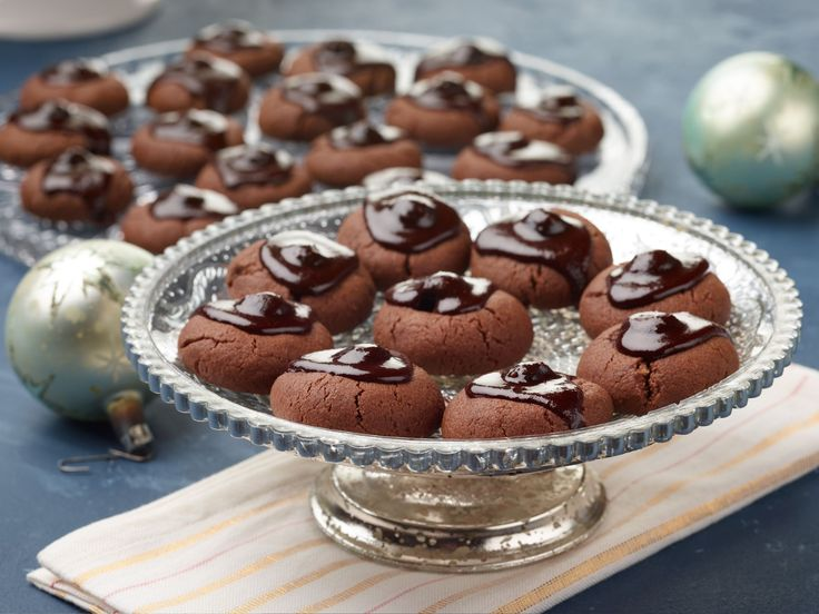 Chocolate-Covered Cherry Cookies recipe from Food Network Kitchen via Food Network