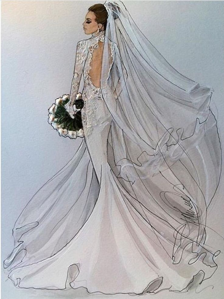 181 best bridal illustrations images on pinterest